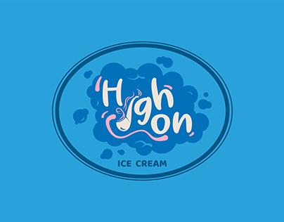 Logo, Branding & Packaging - HIGH.ON.ICECREAM