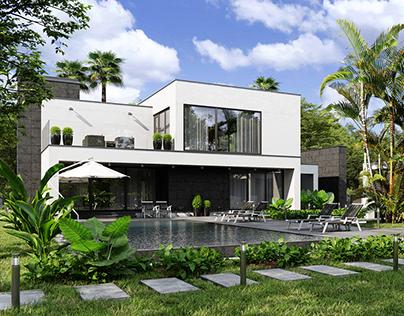 Modern Villa in Thailand