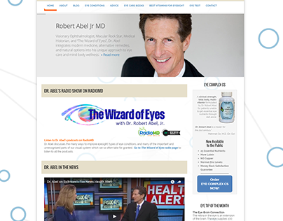 Eye Advisory - Wordpress Site
