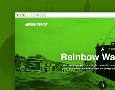 Greenpeace / Rainbow Warrior