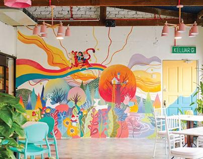 Wichi Wichi Tapas Bar: Wall Mural