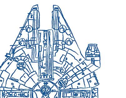 Star Wars (Millennium Falcon)