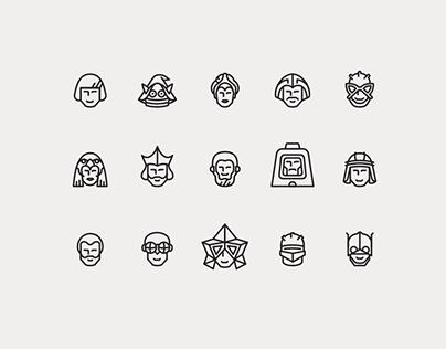 MOTU Icon Set