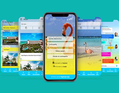+Voyage app | Diseño de interface