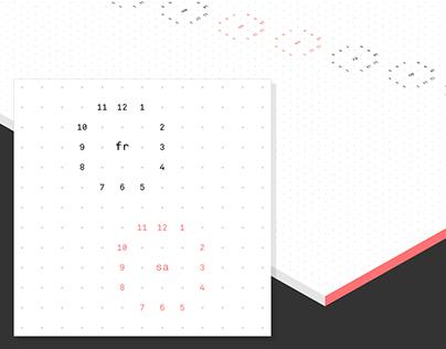 MS-Press Calendar