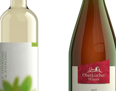 Weinflaschen-Visualisierung