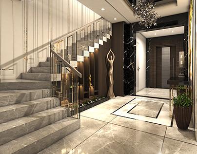 Entrance Interior | new classic-luxury