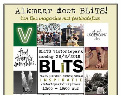 Flyer BLitS event Victoriepark