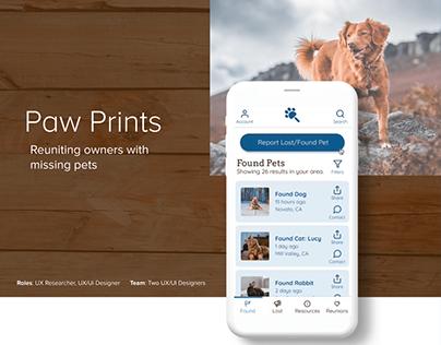 Paw Prints Case Study