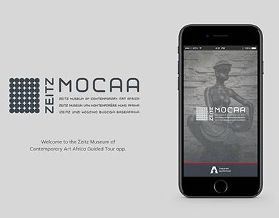 Zeitz MOCAA Guided Tour App Concept