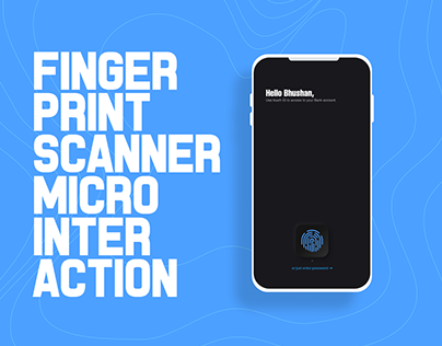 Fingerprint Scanner Microinteraction Design
