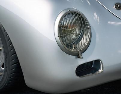 Porsche 356 Sketch Outlaw CGI Animation Teaser