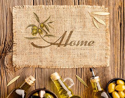 Olive oil logo & businesscard