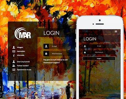 Museum Art Reader - Responsive webdesign