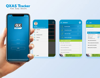 QXAS Tracker Mobile App