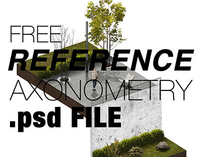 REFERENCE AXONOMETRY .psd FILE