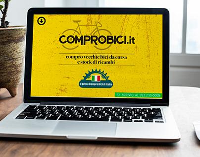 Website - comprobici.it- (Negozio di biciclette)
