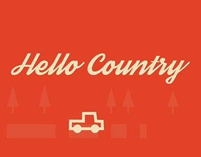 "Sleven Lee Olsen ""Hello Country"" Lyric Video"