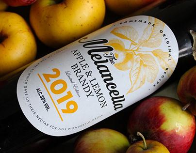 The Melancella. Homemade Brandy