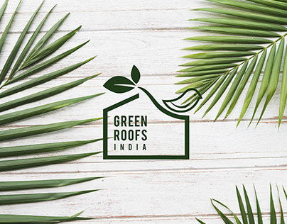 Green Roofs India Identity Design