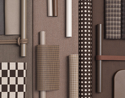 Kettal — Material moodboards