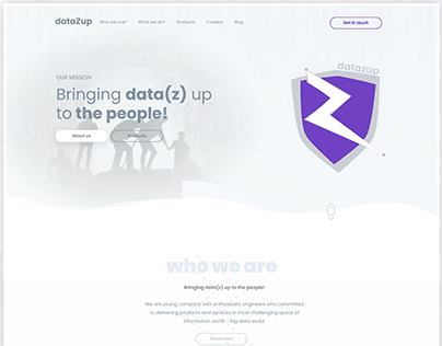 DataZup - Bringing data(z) up to the people | 2018