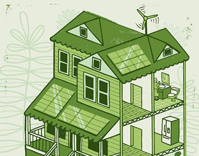 Green Homes (Boston Globe Magazine)