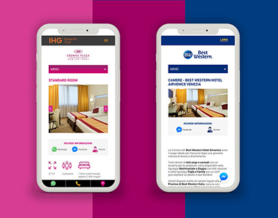 website / M Hotels