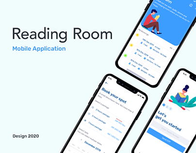 Reading Room Library iOS App UI/UX