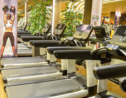 A Futuristic Gym