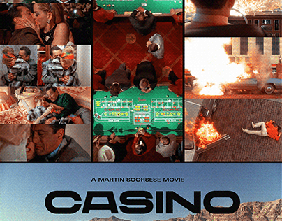 CASINO (1995) - (POSTER TRIBUTE ARTWORK)