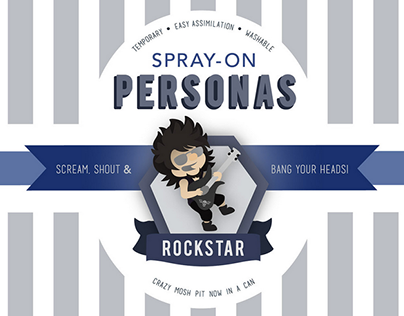 Spray-On Personas.