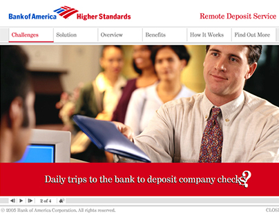 Bank of America Remote Deposit Service