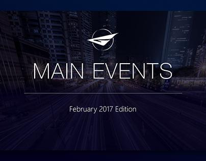 Main Events: February 2017