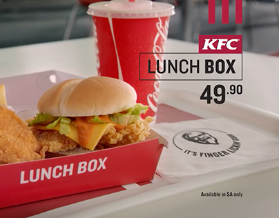 KFC LunchBox Integrated Campaign