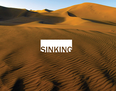 SINKING - branding