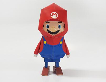 032_Super Mario [Paper Toy Boogie Hood]