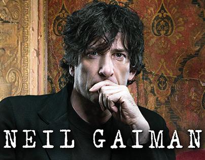 Neil Gaiman —book advertising