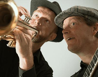 """Fotoproduktion Musiker Duo """"Jazz Dwarf"""""""