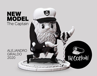 The Captain - Alejandro Giraldo. 3D Model