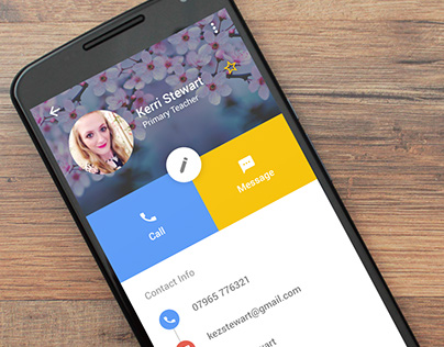 Samsung Contacts Quick Redesign