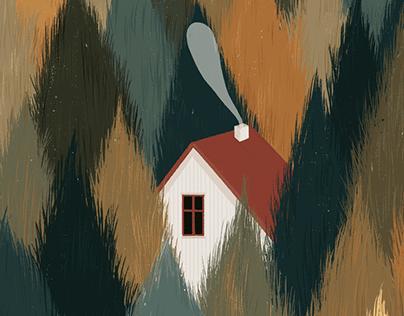 Casita en el bosque