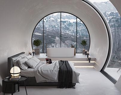 Dream Hotel Room in Turkey by Selami Bektaş