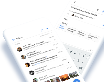 A new Gmail (Concept)