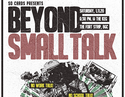 So Cards - Beyond Small Talk Poster