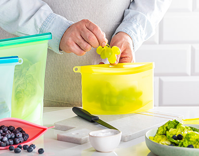 Home Hero - Silicone Food Storage Bags