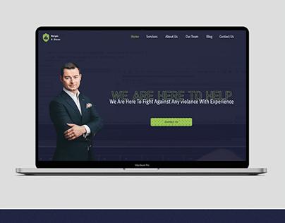 Cyber Lawyer Office - Website Design - Carmine Cloak