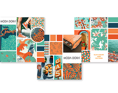 2021 moodboard color and pattern
