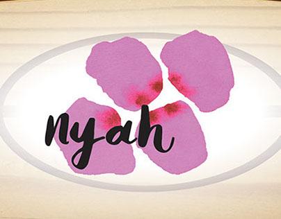Tarjetas y Letreros Nyah