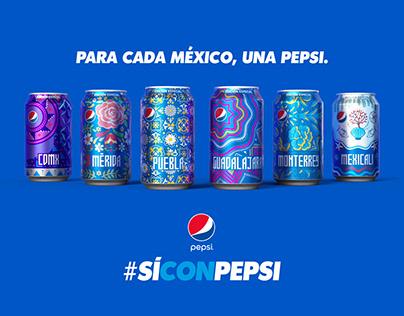 Para cada México, una pepsi.